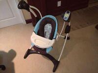 Balancelle automatique (swing) pour bébé avec musique / vibratio