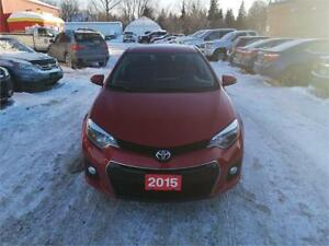 2015 Toyota Corolla S Sunroof!! Heated Seats!! Back-up Camera!!