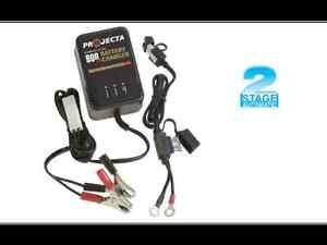 PROJECTA CHARGE&MAINTAIN  BATTERY TRICKLE CHARGER AC150 12V CAR,BIKE,BOAT,JETSKI