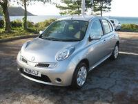 2008 (08) Nissan Micra Acenta, 1240cc Petrol, 5 Speed Manual