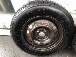 2 Golden Fury GFT Tires with Rims for $120