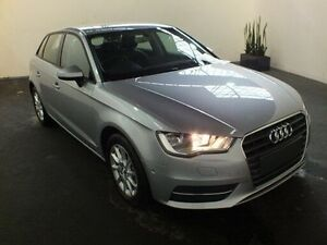 2015 Audi A3 8V MY16 Sportback 1.4 TFSI Attraction Silver 7 Speed Automatic Hatchback Clemton Park Canterbury Area Preview