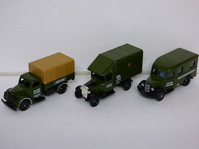 Lledo Days Gone Post Office Telephones Set Morris, Ford & Bedford  REF: POL1003