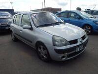 2005 Renault Clio Dynamic Breaking Silver 1.6 Engine Door Boot Alloy Light Bumper Bonnet...