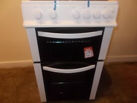 Logik white gas cooker 352