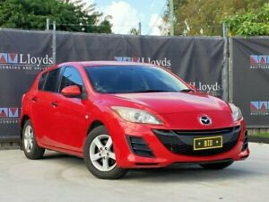 2010 Mazda 3 BL Series 1 Red 6 Speed Manual 4-Door Sedan Carrara Gold Coast City Preview