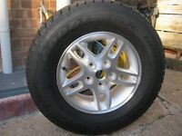 Chrysler Jeep Grand Cherokee brand new alloy wheel and tyre £45