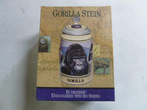 Budweiser Endangered Species Series Stein Gorilla