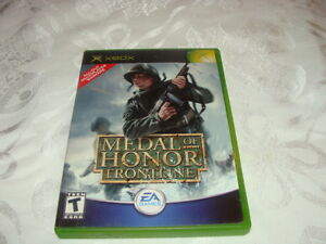 Medal of Honor frontline; Medal of Honor Rising Sun XBox