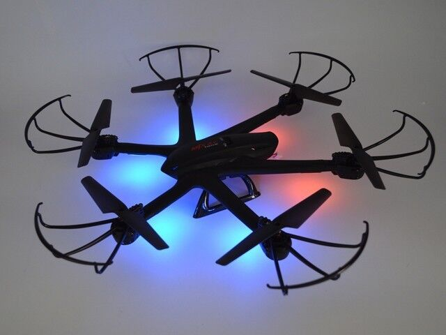 Black MJX X600 2.4G Gyro 3D Roll RC Drone Quadcopter Helicopter without Camera