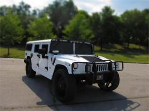 "2003 HUMMER H1 WAGON K-SERIES LEATHER 28"" WHEELS MIAMI PKG!!!"