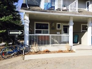 Room for lease in commercial townhouse in central west Edmonton
