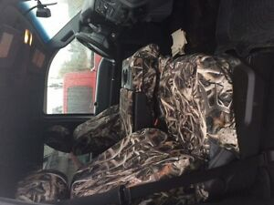 CAMO SEAT COVERS FOR A 2009-2016 FORD SUPER DUTY 40 20 40 SPLIT Strathcona County Edmonton Area image 1