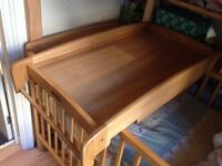 Mamas & Papas Baby Changing Table for Cots