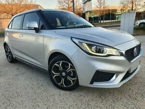2019 MG MG3 SZP1 MY18 Excite Silver 4 Speed Automatic Hatchback Fyshwick South Canberra Preview