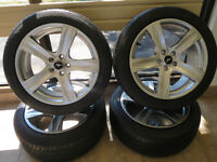 Mustang Rims and Pirelli 245/45 ZR19 tires