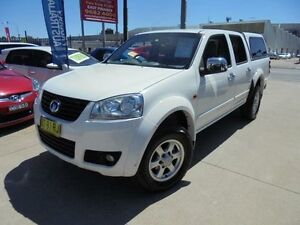 2013 Great Wall V200 K2 MY13 White 6 Speed Manual 4D Utility Holroyd Parramatta Area Preview