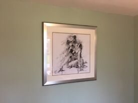 Joanne Boon - Figurative Study 1 Framed Print 91cm x 91cm