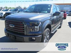 2016 FORD F-150 Lariat 4X4 SuperCrew 5.5ft - Manager's Demo