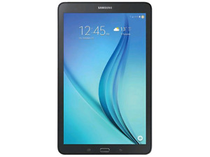 Galaxy Tab E 16GB 8.0 Wi-Fi + LTE works perfectly in exc
