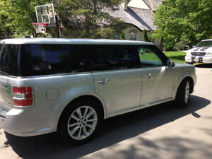2011 Ford Flex Silver SUV, Crossover