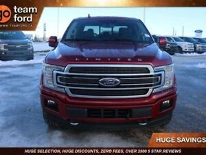 2019 Ford F-150 LIMITED, 900A, 3.5L ECOBOOST, 4X4, SYNC3, NAV, R