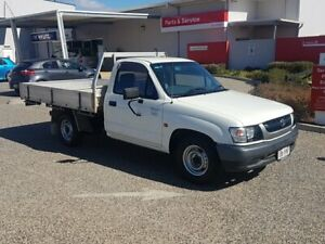 2003 Toyota Hilux RZN147R MY02 Workmate 4x2 White Solid 5 Speed Manual Cab Chassis Warwick Southern Downs Preview
