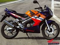 Honda cbf 125 for breaking