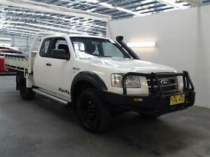 2007 Ford Ranger PJ XL (4x4) White 5 Speed Manual Beresfield Newcastle Area Preview