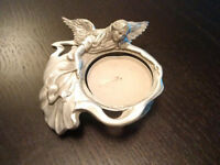"Seagull Pewter Angel Tealight  Approximate dimensions: 1"" H x 3."