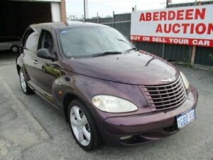 2005 Chrysler PT Cruiser MY05 Upgrade Grand Tourer Purple 5 Speed Manual Hatchback West Perth Perth City Area Preview