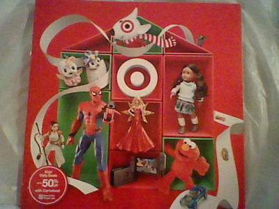 Target Christmas Holiday Toy Idea Catalog 2017, Electonics Dolls Clothes Games ()