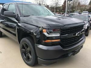 NEW 2017 CHEVROLET SILVERADO 1500 double cab 4x4 BLACK OUT EDITI