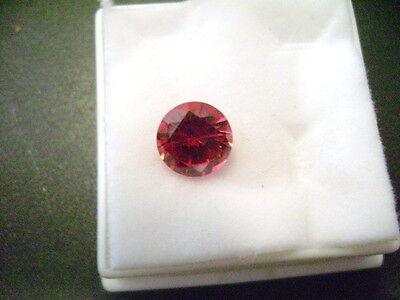Lab Grown Round Ruby 8mm Lot of 25 Stones