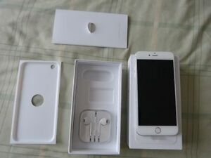 IPHONE 6 64GB WHITE ROGERS/CHATR(BRAND NEW COUPLE OF MONTHS OLD)