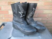 Motorcycle boots RST Hipora Waterproof size 11