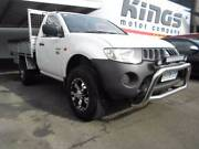 2008 Mitsubishi Triton diesel 3.2 auto flat tray Ute North Hobart Hobart City Preview
