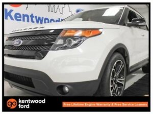2015 Ford Explorer Sport 4WD ecoboost with NAV, twin panel sunro