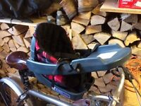 Dog Seat for Push Bike (Buddy Rider)