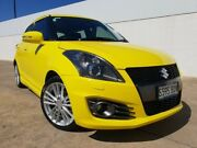 2014 Suzuki Swift FZ MY14 Sport Yellow 7 Speed Constant Variable Hatchback Medindie Walkerville Area Preview