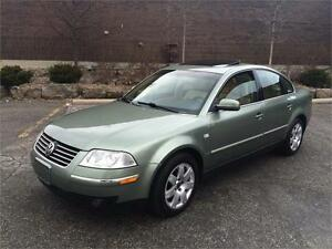 2002 VOLKSWAGEN PASSAT, AWD 4Motion,LOW KM's