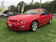 2001 Ford Falcon Auii XR8 Red 4 Speed Automatic Sedan Clontarf Redcliffe Area Preview