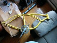 1972 schwinn coaster krate frame and parts - cadre et pieces