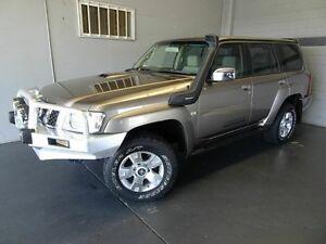 2008 Nissan Patrol GU VI ST-L (4x4) Gold 4 Speed Automatic Wagon Woodridge Logan Area Preview