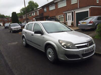 2006 ASTRA 1.6 LIFE, TWINPORT, PRIVATE SALE, MOT OCTOBER, GOOD RELIABLE LITTLE CAR, RECENT CAMBELT