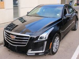 2016 Cadillac CTS AWD BLACK ON BLACK NAVIGATION SUNROOF LOW KM F