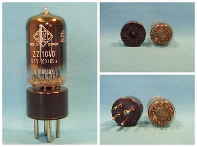 Glimmstabi ZZ1040 von TELEFUNKEN = Stv100/60zII, NOS, inkl. Adapter. LgNr. F2030