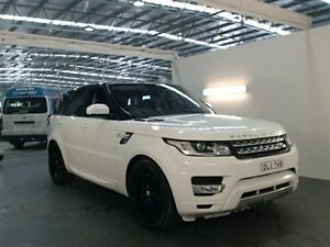 2014 Land Rover Range Rover LW Sport 3.0 SDV6 HSE White 8 Speed Automatic Wagon Beresfield Newcastle Area Preview