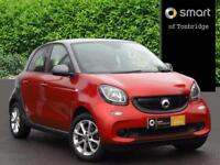 smart forfour PASSION PREMIUM T (red) 2016-10-28