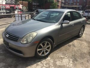 2006 INFINITI Berline G35 Luxury